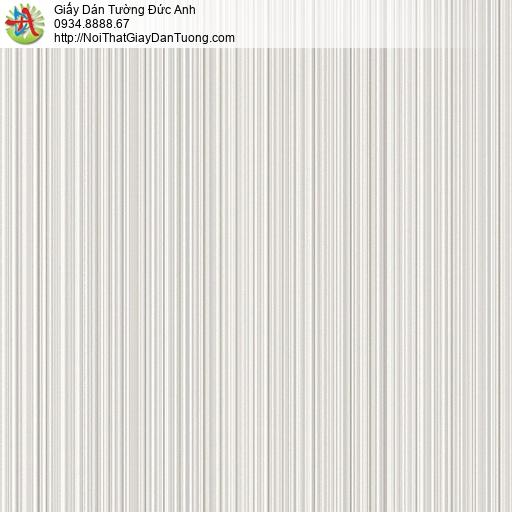 the ACE, Walltex WT 181 | Giấy dán tường sọc nhỏ, nhuyễn màu xám trắng