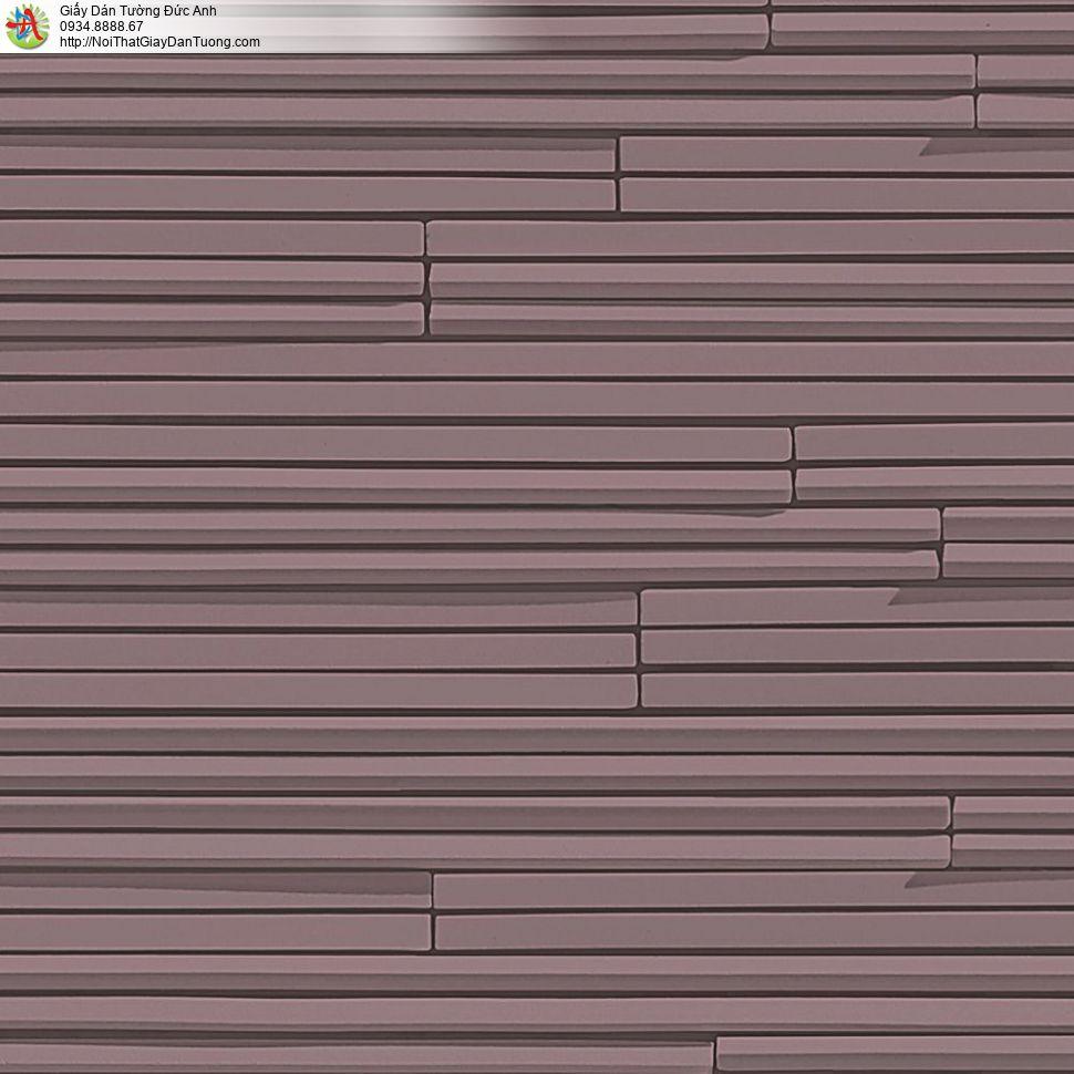 the ACE, Walltex WT 1811-4 | Giấy dán tường dạng sọc ngang màu đỏ sẫm