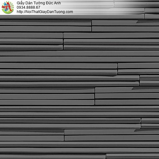 the ACE, Walltex WT 1811-6 | Giấy dán tường dạng sọc ngang màu đen