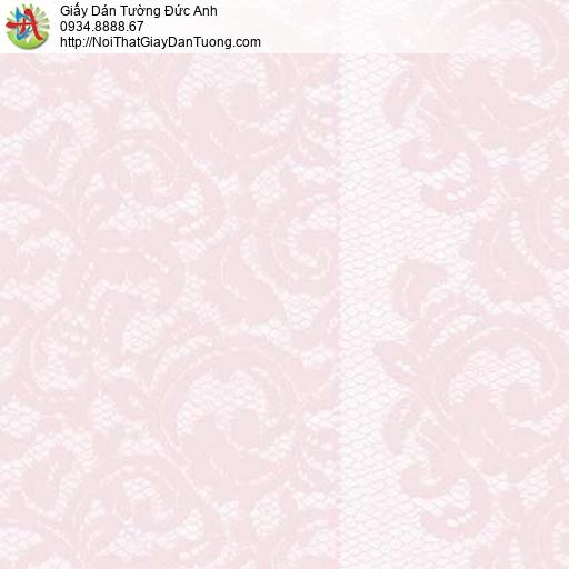 Giấy dán tường Florence 82043-3 | Giấy dán tường hoa văn màu hồng