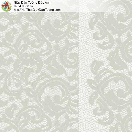 Giấy dán tường Florence 82043-4 | Giấy dán tường hoa văn màu xám xanh