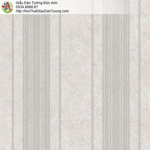 Giấy dán tường Florence 82045-2 | Giấy dán tường kẻ socjto nhỏ màu xám