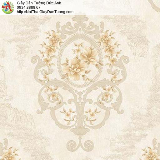 Giấy dán tường Florence 82047-1 | Giấy dán tường hoa văn cổ điển