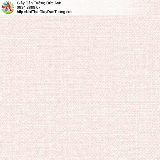 Giấy dán tường Florence 82051-2 |Giấy dán tường gân trơn màu hồng nhạt