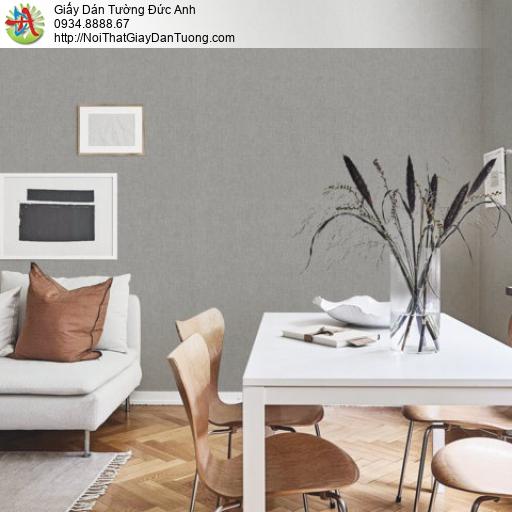 Giấy dán tường gân trơn đơn sắc màu xám, giấy vân trơn |Sketch 15043-5