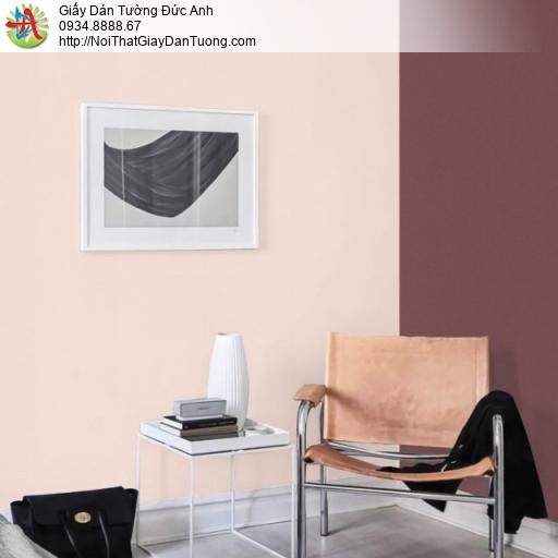 Giấy dán tường màu hồng vàng, màu vàng hồng nhạt | Sketch 15053-10