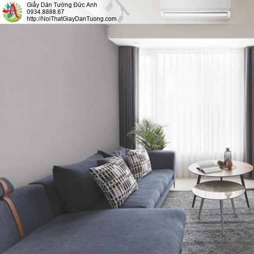 Giấy dán tường màu xám, màu xám nâu, giấy gân trơn | Sketch 15053-5