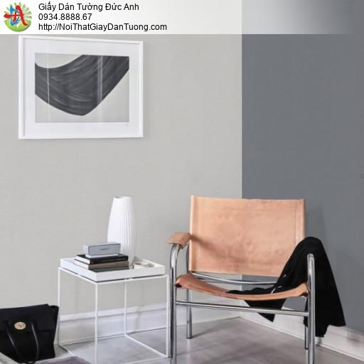 Giấy dán tường màu xám, màu xám xanh, giấy gân trơn | Sketch 15053-11