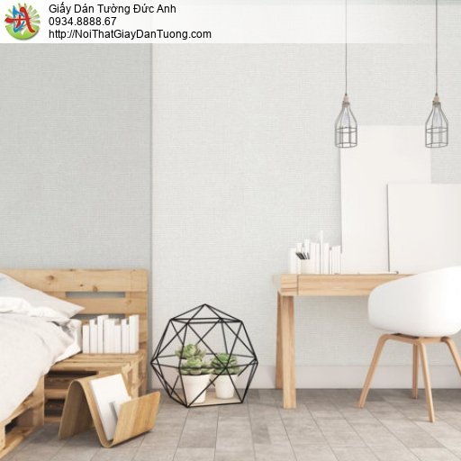 Giấy dán tường màu xám nhạt, màu trắng xám, xám trắng | Sketch 15060-3