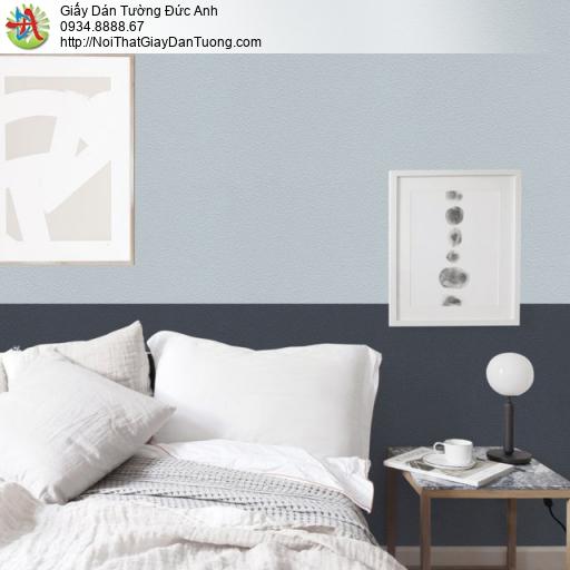Giấy dán tường màu xanh lơ, màu xanh xám | Đức Anh | Sketch 15053-7