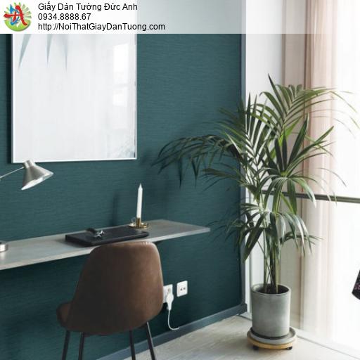 Giấy dán tường màu xanh ngọc | giấy điêm nhấn | SKETCH 15070-7
