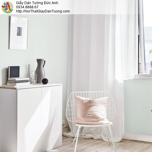 Giấy dán tường màu xanh nhạt, giấy gân màu xanh lợt | SKETCH 15075-5