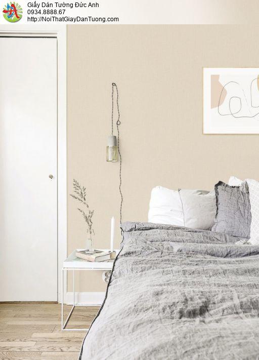 Giấy dán tường trơn màu vàng, gân màu vàng cam nhạt | SKETCH 15078-4