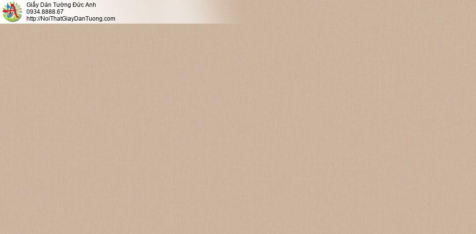 Giấy dán tường trơn màu vàng nâu, điểm nhấn phòng ngủ | SKETCH 15078-5
