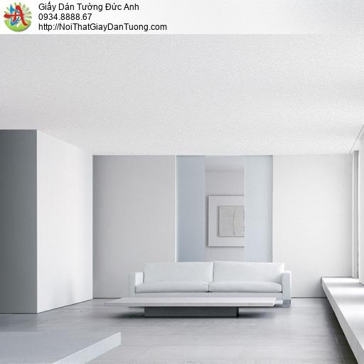 Giấy dán tường trơn màu trắng xám Lohas 54160-1 pc