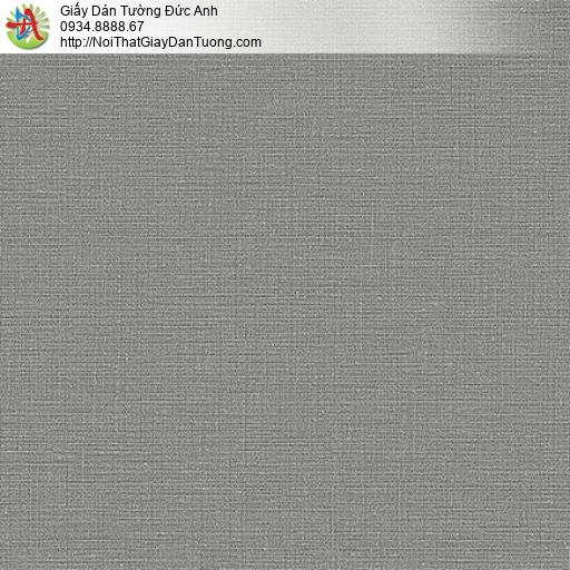 Giấy dán tường gân trơn đơn giản một màu xám, xám tối Lohas 87388-4