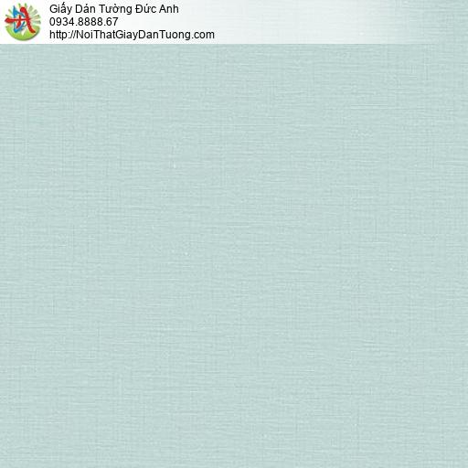 Lohas 87399-7, Giấy dán tường màu xanh nhạt,giấy gân trơn đơn sắc xanh