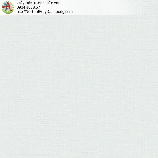 87405-6, Giấy dán tường vân trơn màu xanh nhạt, phòng ngủ đẹp mát mẻ