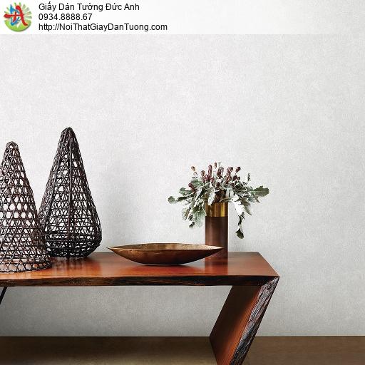 87408-2, Giấy dán tường vân màu xám, họa tiết loang dạng màu bê tông