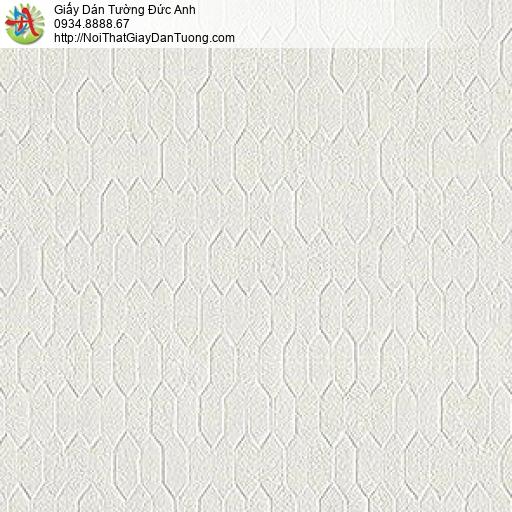87417-1 giấy dán tường vân chìm họa tiết lục giác hình thoi nổi Lohas
