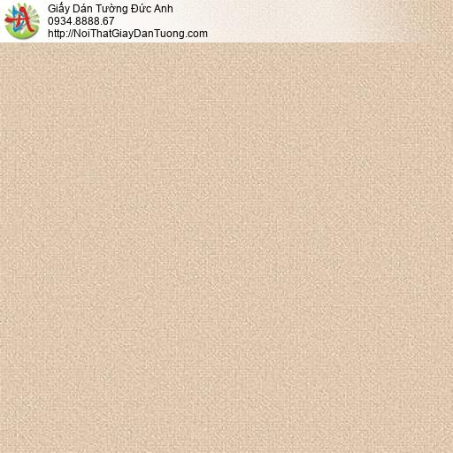 87421-3 giấy dán tương vân trơn đơn giản màu cam, vàng nâu đất