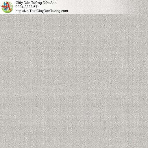 87421-5 Giấy dán tường trơn màu xám, phong cách hiện đại