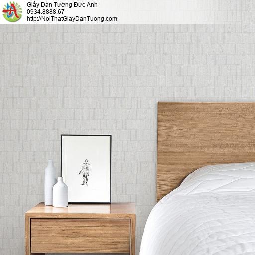 87422-1 Giấy dán tường màu trắng xám họa tiết gân ngang dọc