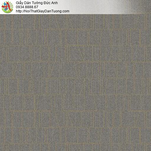 87422-2 Giấy dán tường hoa văn đơn giản màu xám nâu, nâu xám