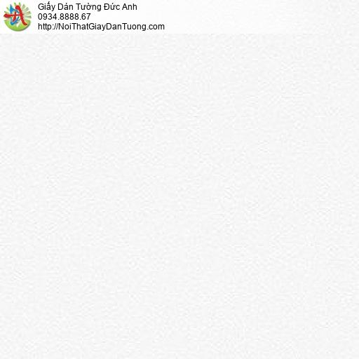 87423-1 Giấy dán tường trơn màu trắng, giấy dán tường phòng khách đẹp