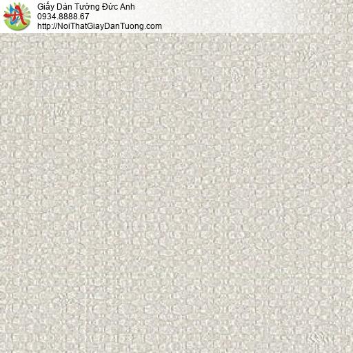 87424-2 Giấy dán tường họa tiết vải bố màu xám nhạt, giấy gân dạng vải