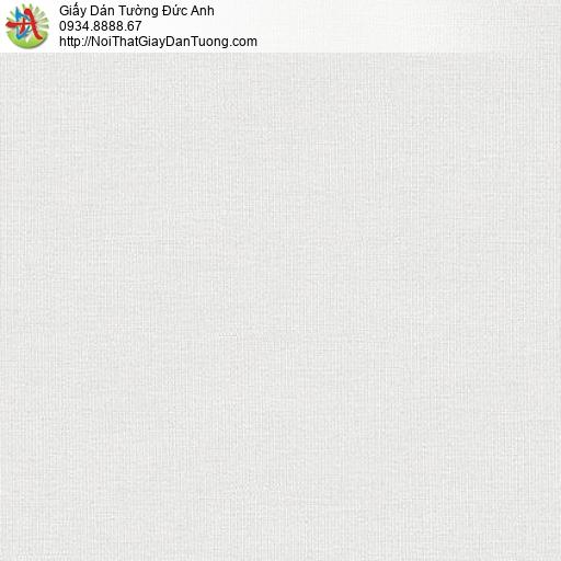 87427-2 Giấy dán tường trơn màu trắng xám, màu xám nhạt, mẫu mới