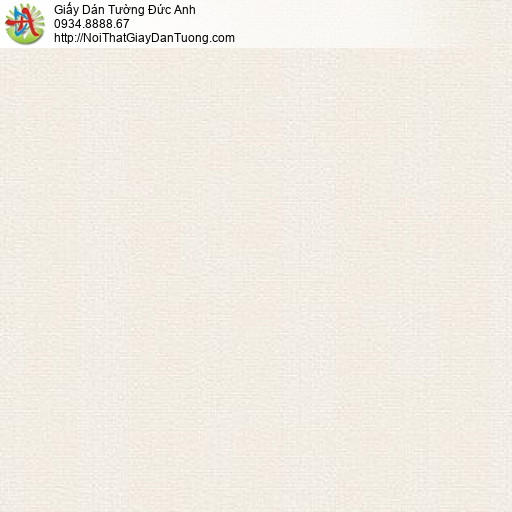 87429-2 Giấy dán tường dạng trơn đơn giản màu vàng nhạt tại Sài Gòn