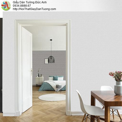 87429-7 Giấy dán tường gân màu xám, mẫu giấy dán tường hiện đại 2020