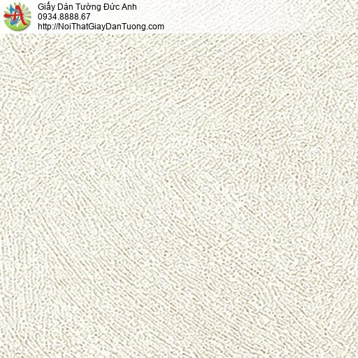 5517-11 giấy dán tường màu kem, giấy dạng gân lớn, Giấy Hàn Quốc mới