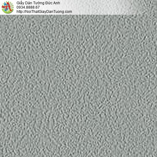 5536-4 Giấy dán tường gân sần lớn màu xám xanh,dán giấy tường hiện đại