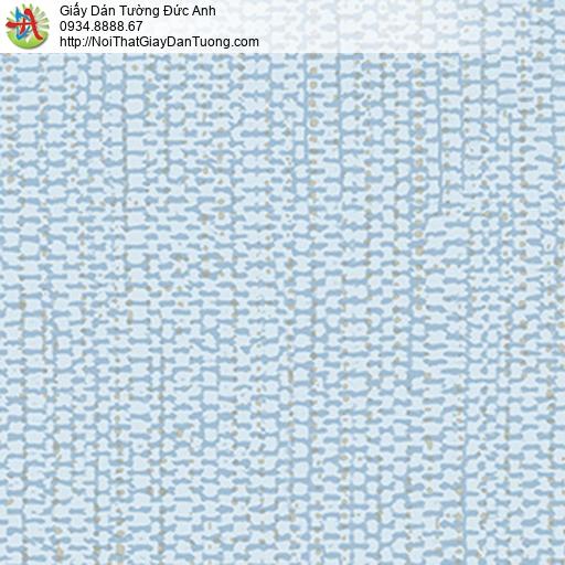 5538-3 Giấy dán tường họa tiết zic zac màu xanh lơ,giấy màu xanh nhạt