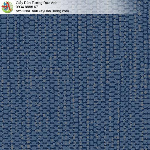 5538-5 Giấy dán tường màu xanh nước biển, màu xanh đậm họa tiết nhỏ