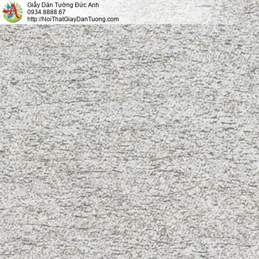 5546-3 Giấy dán tường họa tiết vỏ cây xước màu xám, giấy cho điểm nhấn