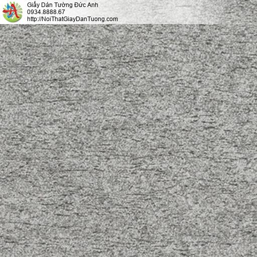 5546-4 Giấy dán tường dạng vỏ cây màu xám vàng, giấy điểm nhấn đẹp