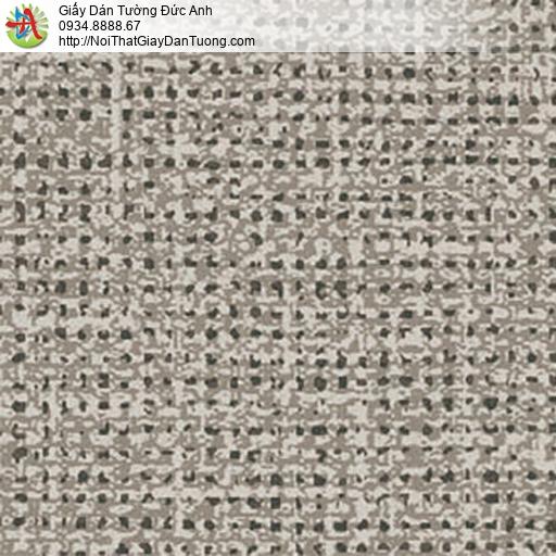 5548-4 Giấy dán tường châm bi màu xám vàng, giây dán tường màu nâu