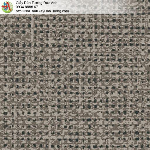 5548-5 Giấy dán tường dạng chấm bi màu nâu, màu vàng đậm đẹp
