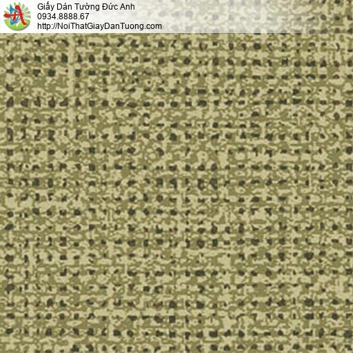 5548-9 Giấy dán tường màu vàng chanh, giấy chấm bi màu vàng đất