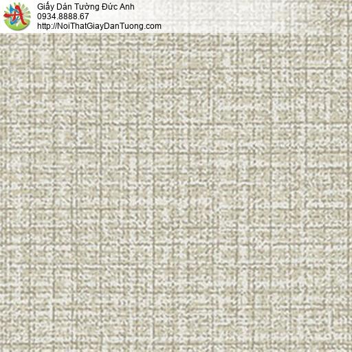 5550-2 Giấy dán tường gân lớn màu xanh lá lợt, giấy dán tường hiện đại