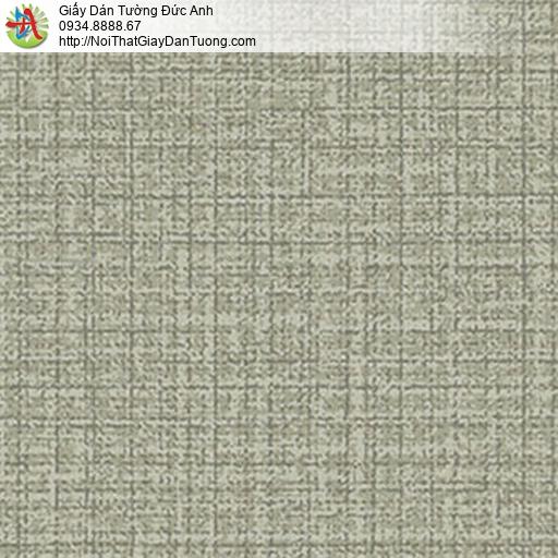 5550-3 Giấy dán tường gân to ngang dọc màu xanh cốm, giấy màu xanh rêu