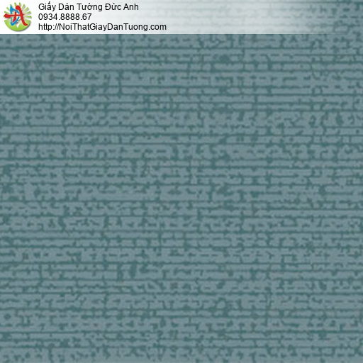 5551-10 Giấy dán tường họa tiết đơn giản màu xanh đậm, giấy hiện đại