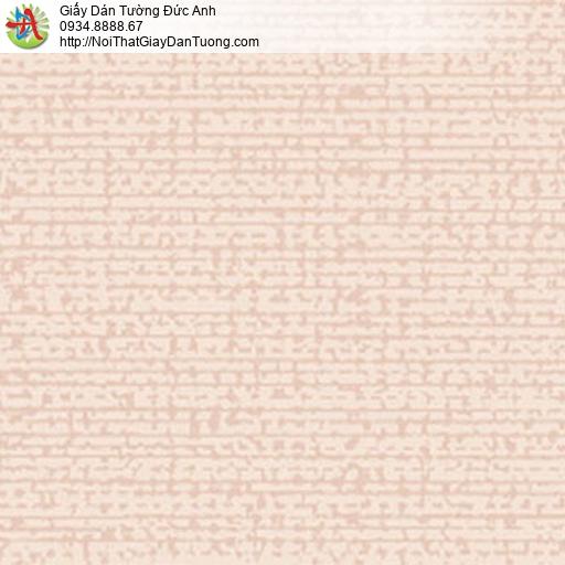 5551-3 Giấy dán tường màu hồng họa tiết đơn giản hiện đại, phòng ngủ