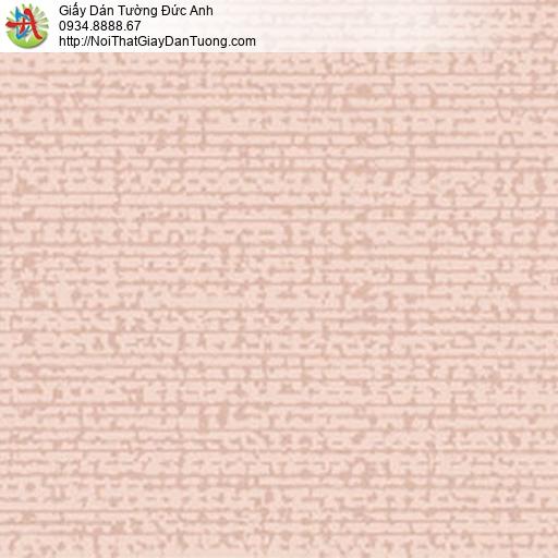 5551-4 Giấy dán tường màu hồng, hoa văn họa tiết hiện đại đơn giản đẹp