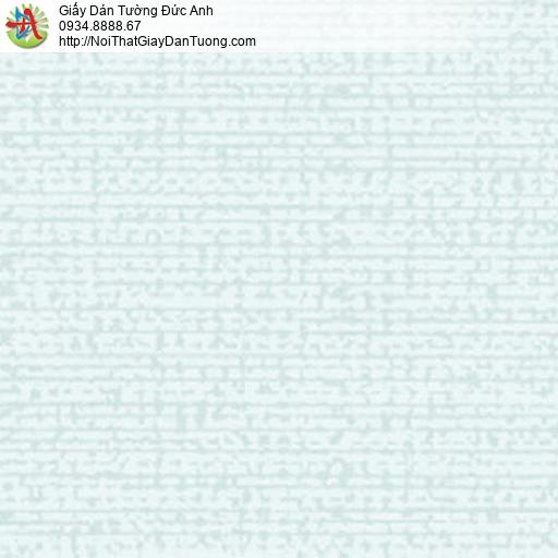 5551-7 Giấy dán tường họa tiết đơn giản màu xanh lơ, màu xanh nhạt