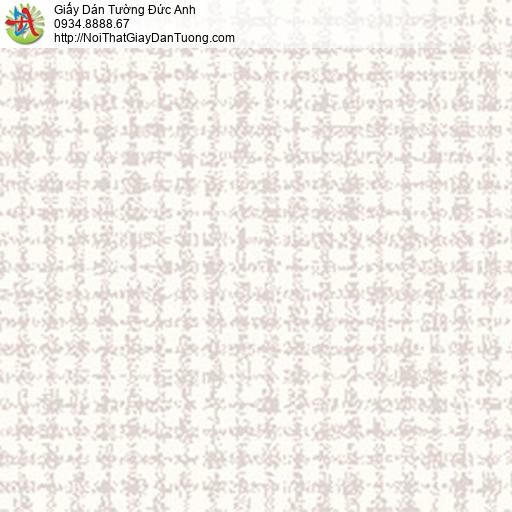 5552-1 Giấy dán tường họa tiết ô vuông màu kem,giấy dán tường hiện đại