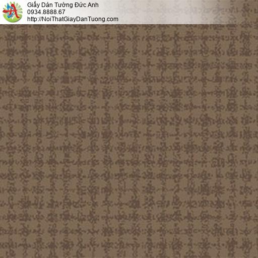 5552-10 Giấy dán tường màu nâu, màu vàng nâu, màu nâu đất hiện đại